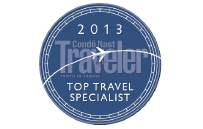 Conde Nast Top Travel Specialist
